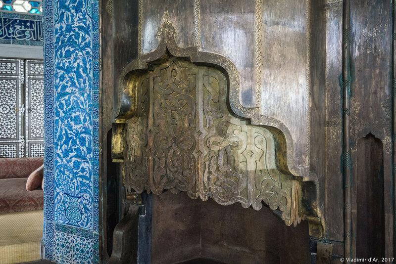 Дворец Топкапы в Стамбуле. Багдадский павильон, летний дворец Багдат (Bağdat Köşkü).