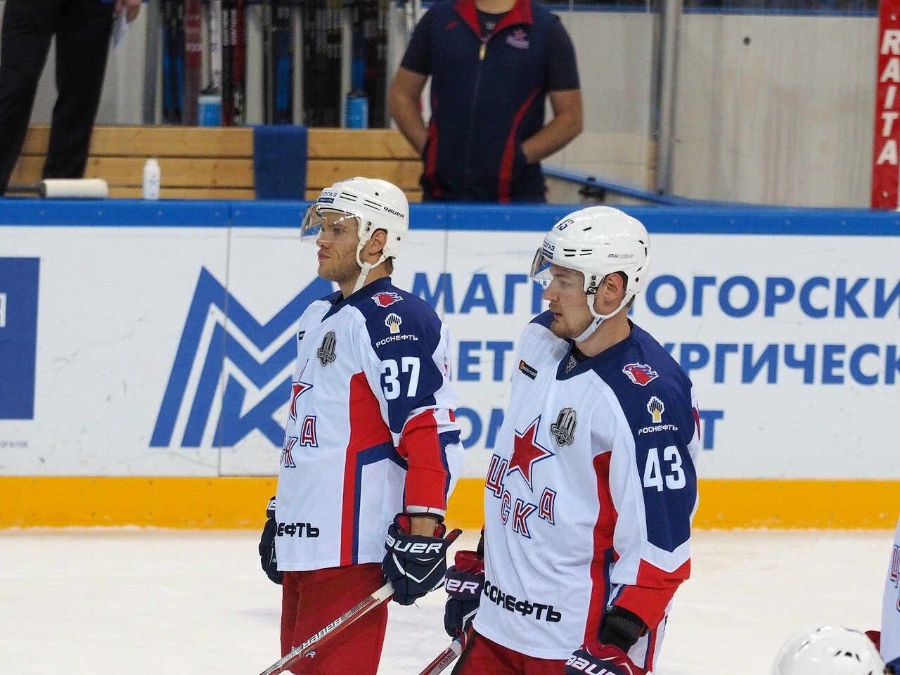 34 Металлург - ЦСКА 18.10.2017