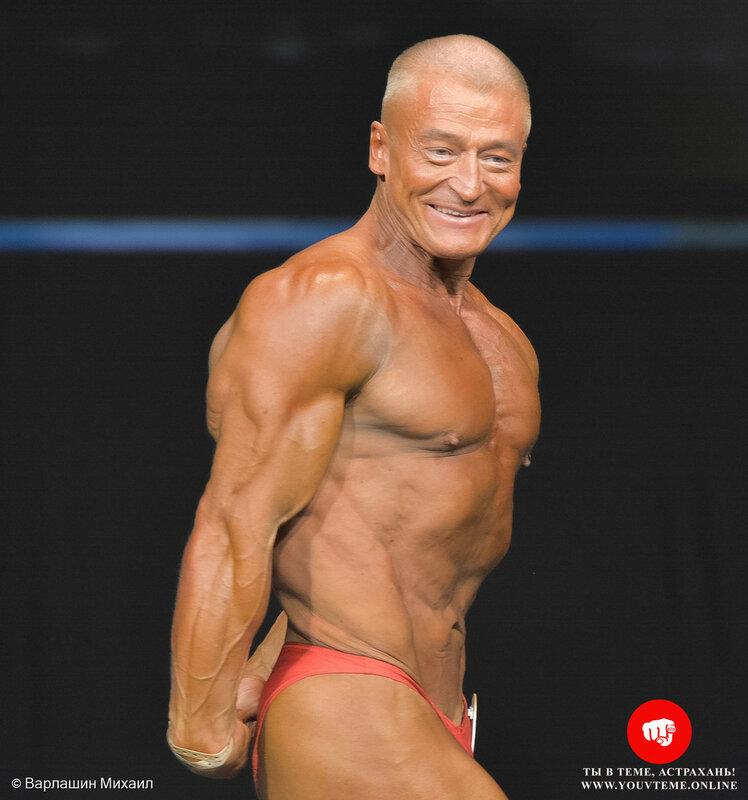 Категория: Мастера-мужчины ст.50 лет. Чемпионат и Первенство России по бодибилдингу 2017