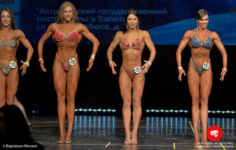 Категория: Бодифитнес +168см. Чемпионат России по бодибилдингу 2017