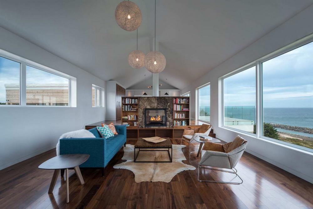 Дом-сарай в живописном уголке Канады