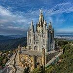 Храм Святого Сердца на горе Тибидабо. Барселона