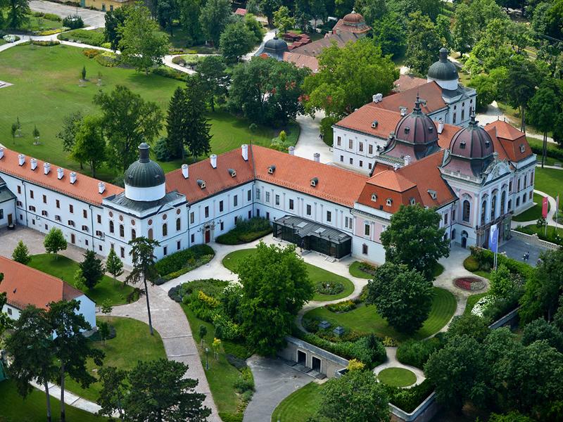 Дворец Геделле в наши дни