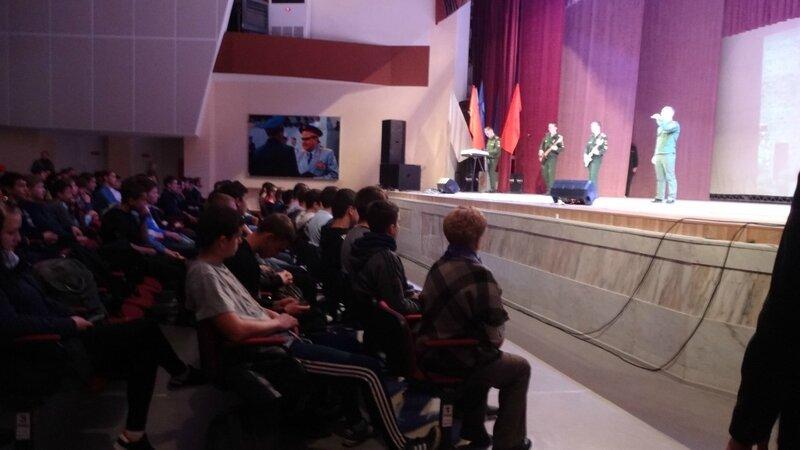 В Вольске торжественное мероприятие посвятили призывникам