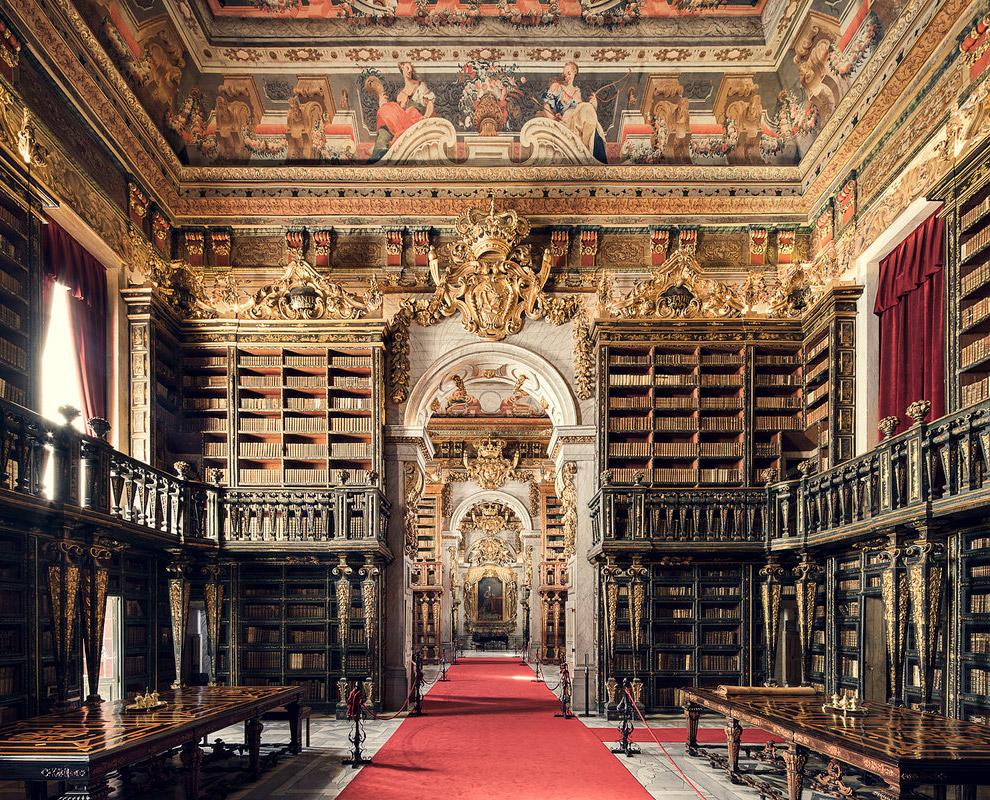 6. Biblioteca Casanatense, Rome, 1701. Находится в Риме.