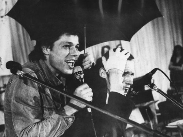 Игорь Скляр, тот, что пел про «Комарово», и Гаркуша.