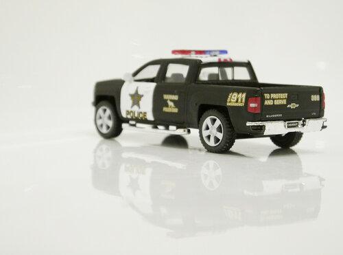 Kinsmart Silverado Police