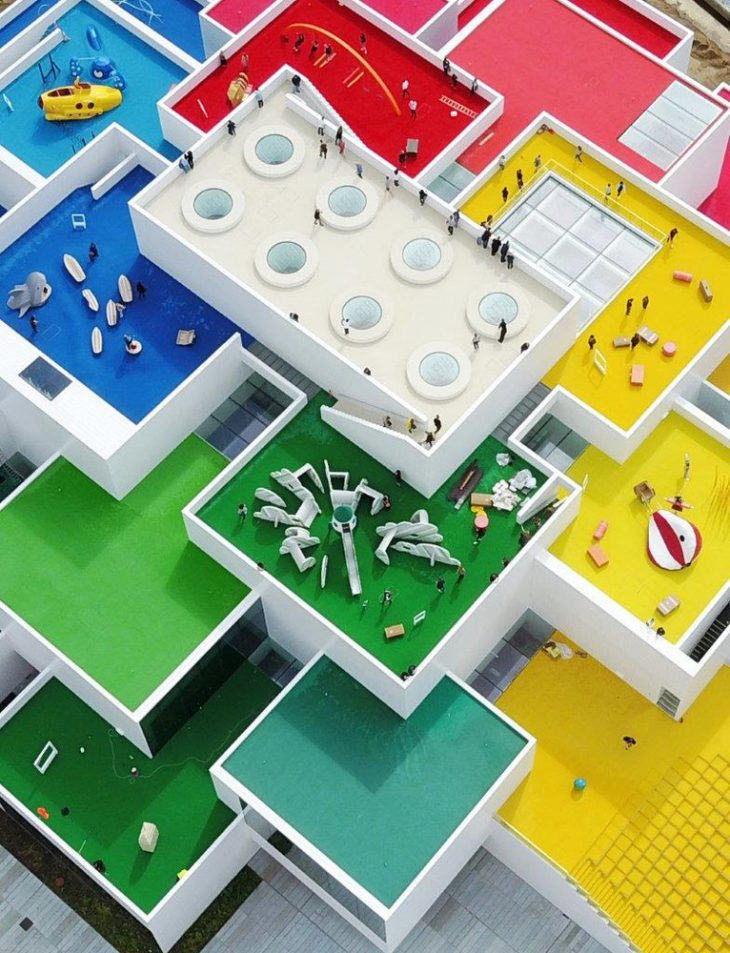 Designed by BIG and COWI, LEGO House is an experience hub for LEGO fans of all ages, as well as an a