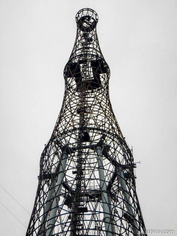 Шуховская радиобашня на Шаболовке