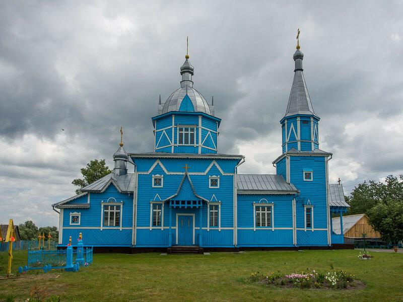Церковь в Белоуше (1905 г.)