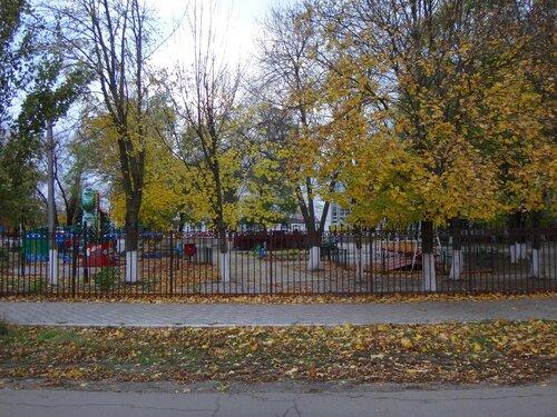 Осень, парк ... На финише октября, в городе у моря Азовского. (98).JPG