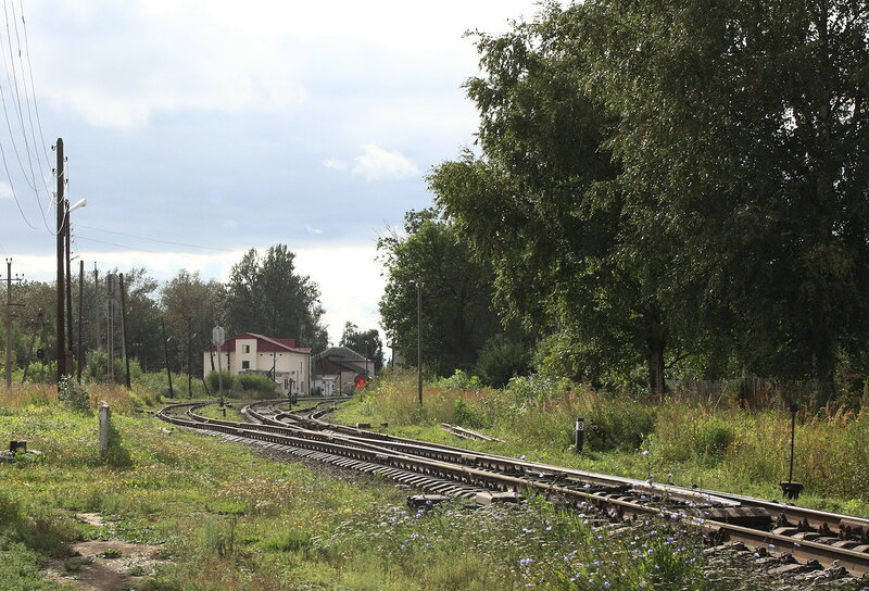 Вид и восточной горловины в сторону вокзала