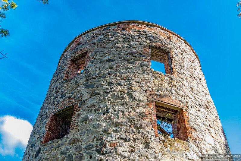 Руины замка Мёрби