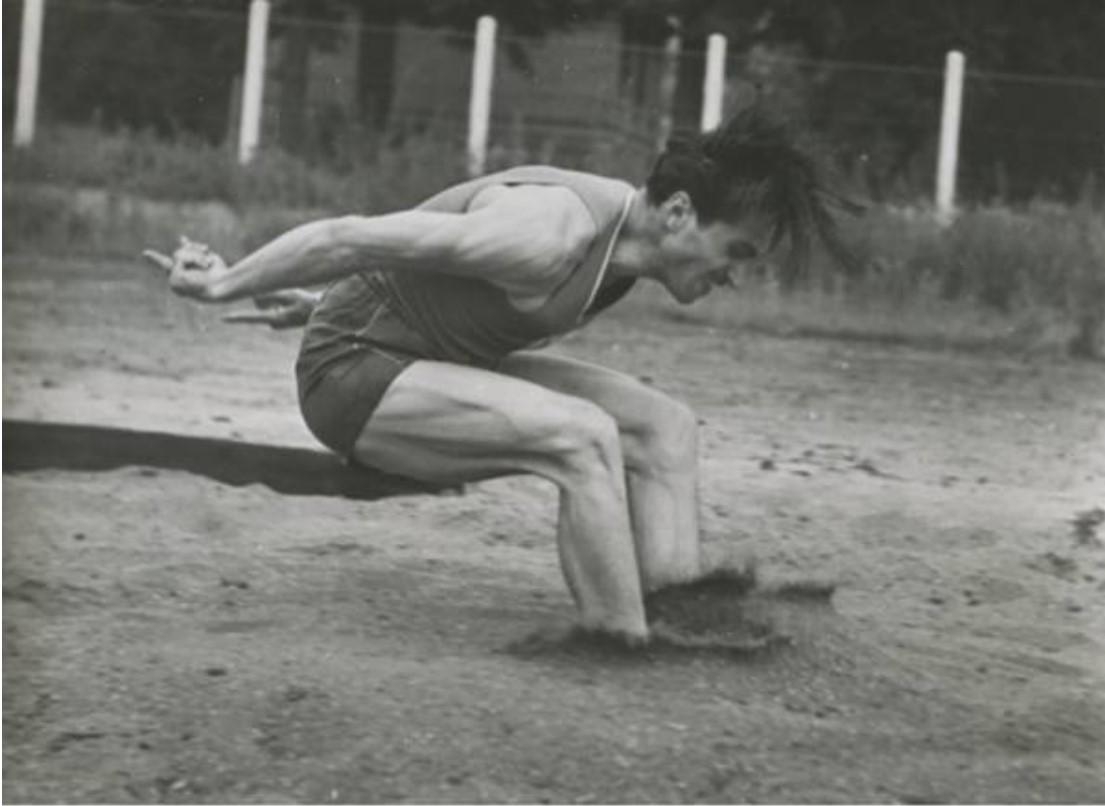 1940-е. Прыгун