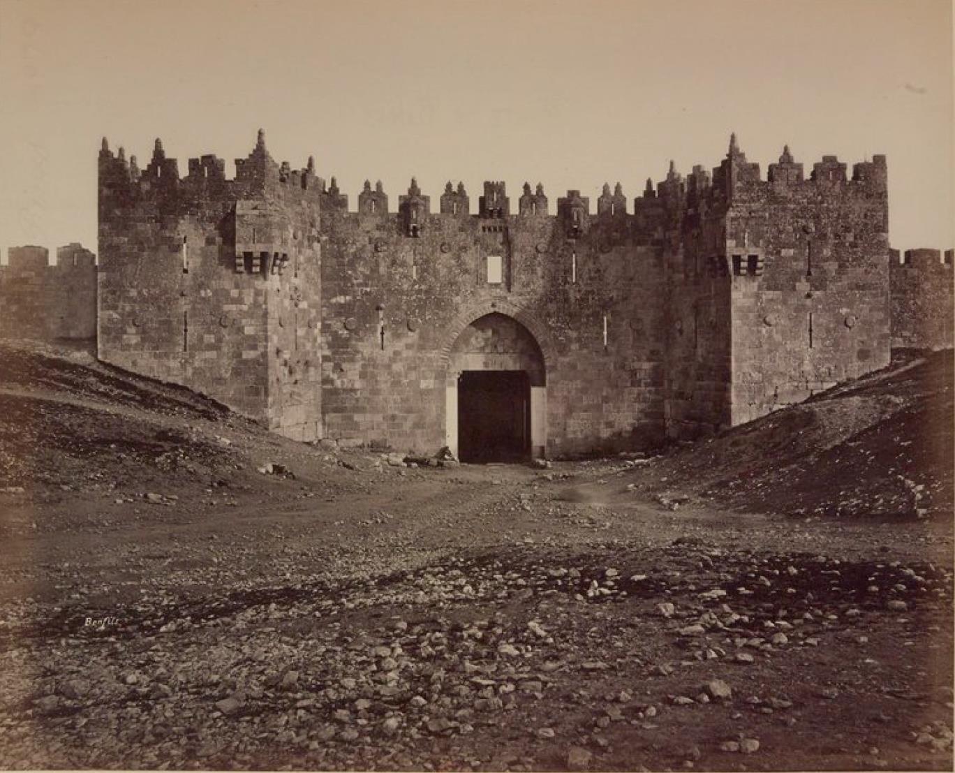 12. Иерусалим. Дамасские ворота