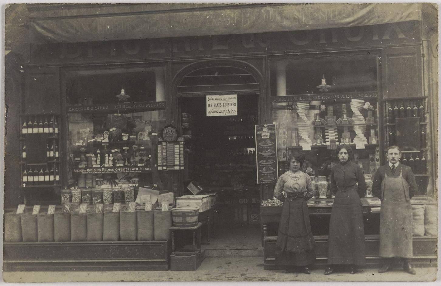 1910-1915. Продукты и алкоголь. Отборные товары, rue Saint-Dominique