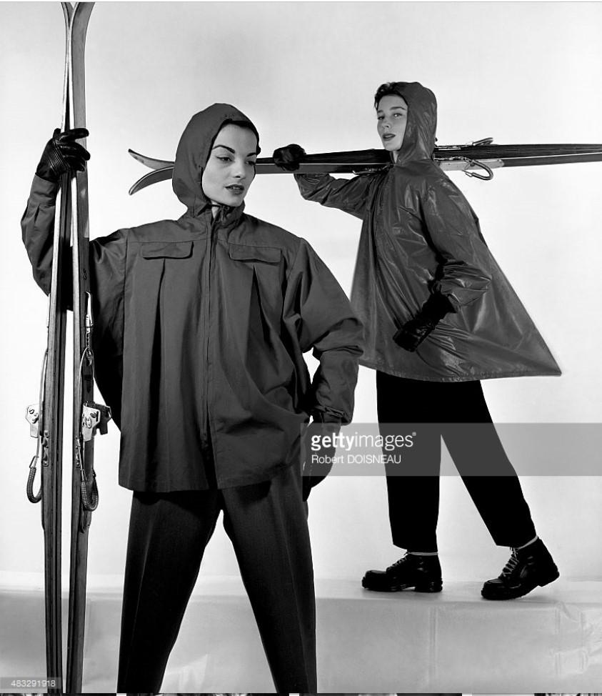 1950. Известная модель Беттина