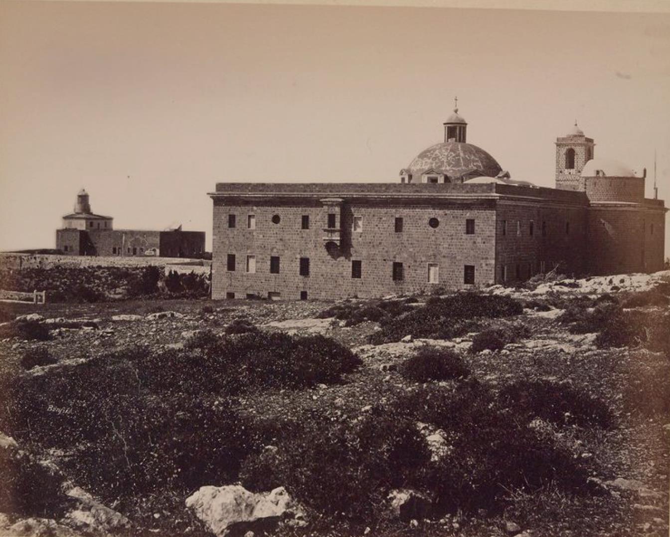 47. Хайфа. Гора Кармель. Монастырь кармелитов