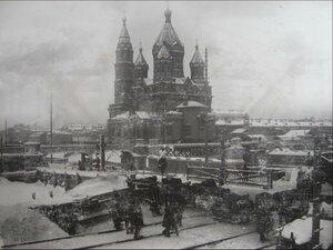 04. Новый путепровод над Обводным каналом. Зима 1900-1901