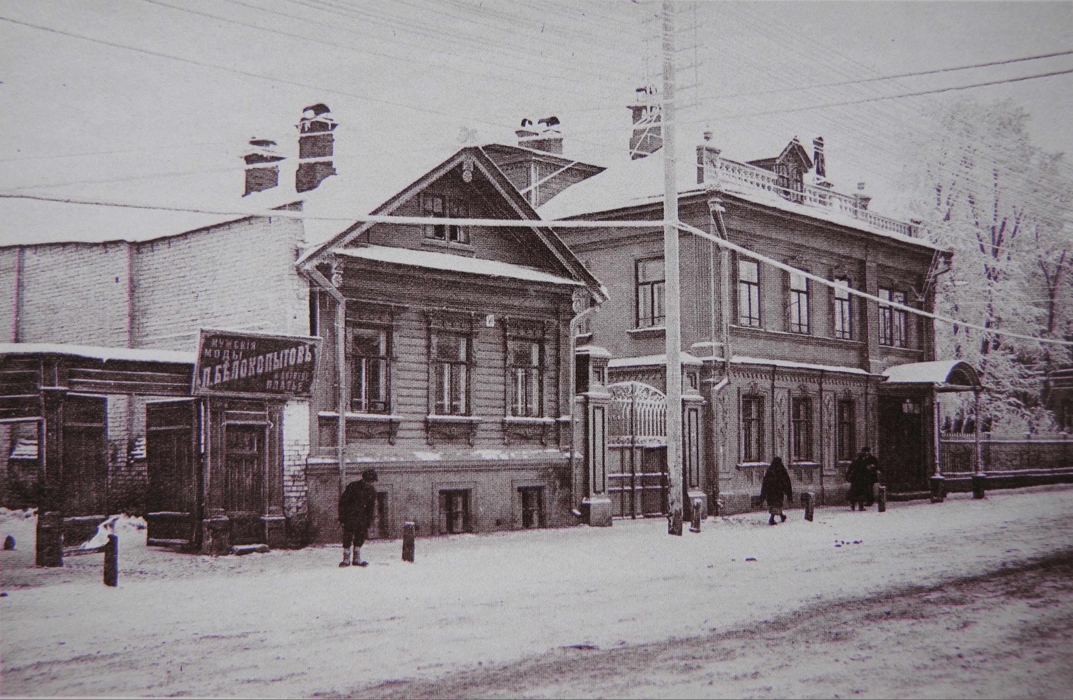 Варварская улица, дома №40 и 40а