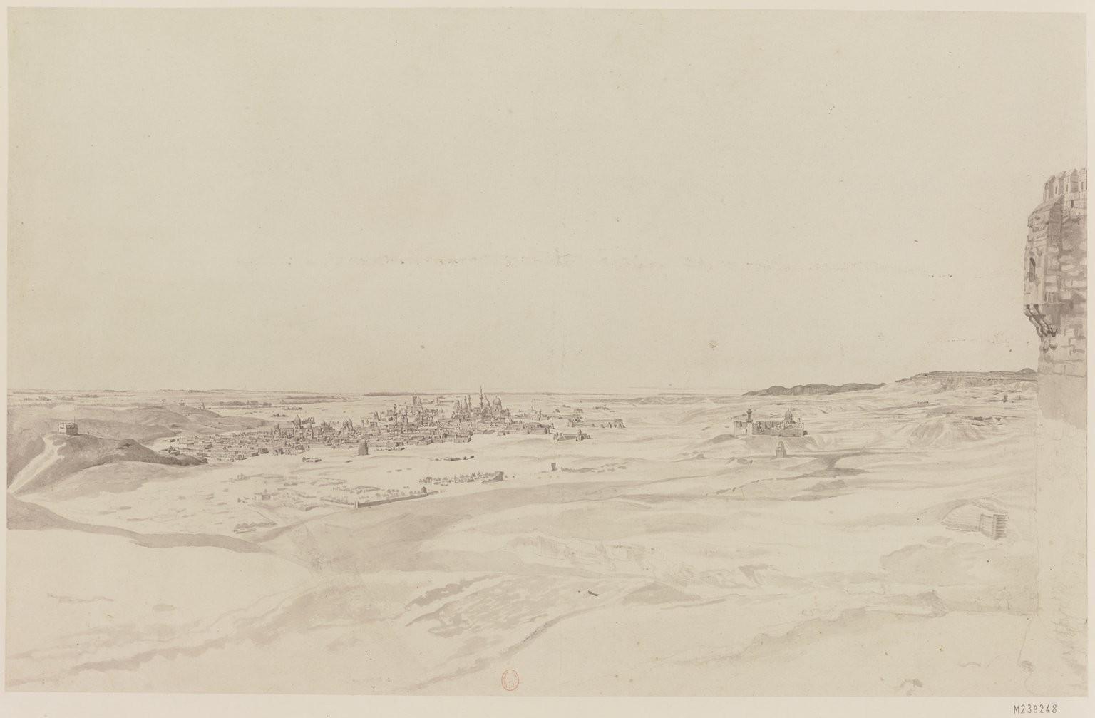 Каир. Вид на город гробниц из Цитадели