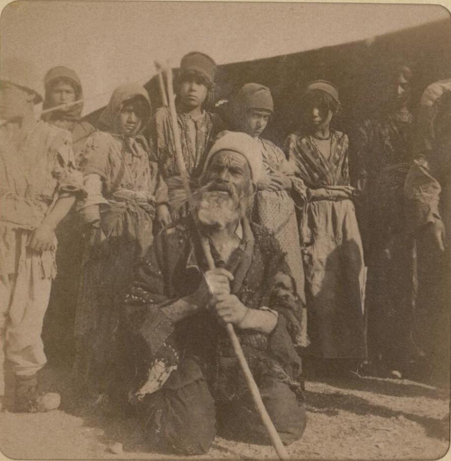 22. Окрестности Эривани. Курды