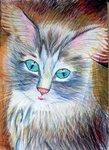 """Головяшкин Тимофей (рук. Стрикулистова Лидия Константиновна) - """"Мой кот"""""""