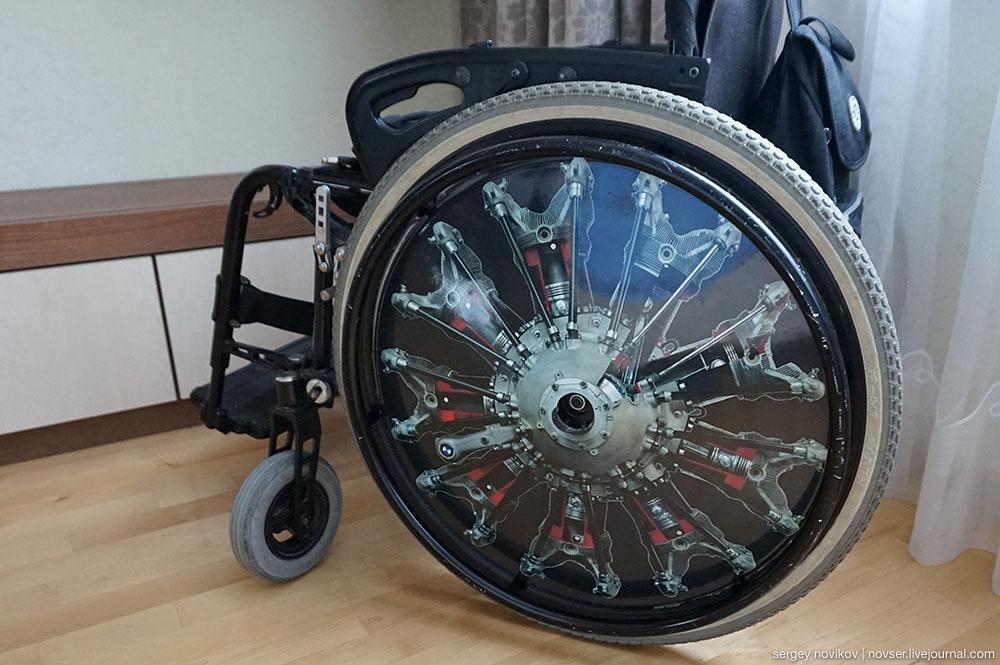 Защита на спицы инвалидных колясок GoCap