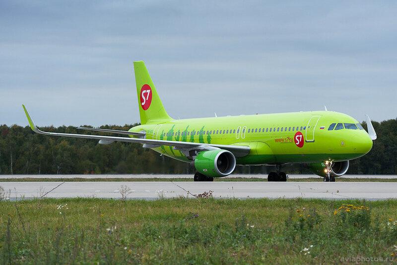 Airbus A320-214 (VP-BOL) S7 0436_D706635