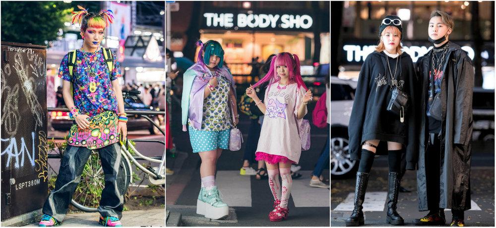 Модные персонажи на улицах Токио (14.11.17)