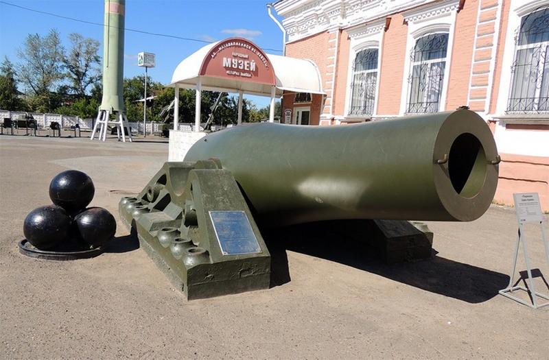 Самые большие пушки