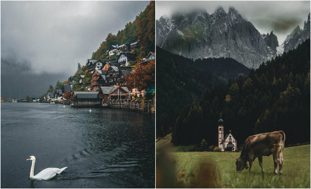 Amazing travels and landscapes in the photo Yanni Laakso