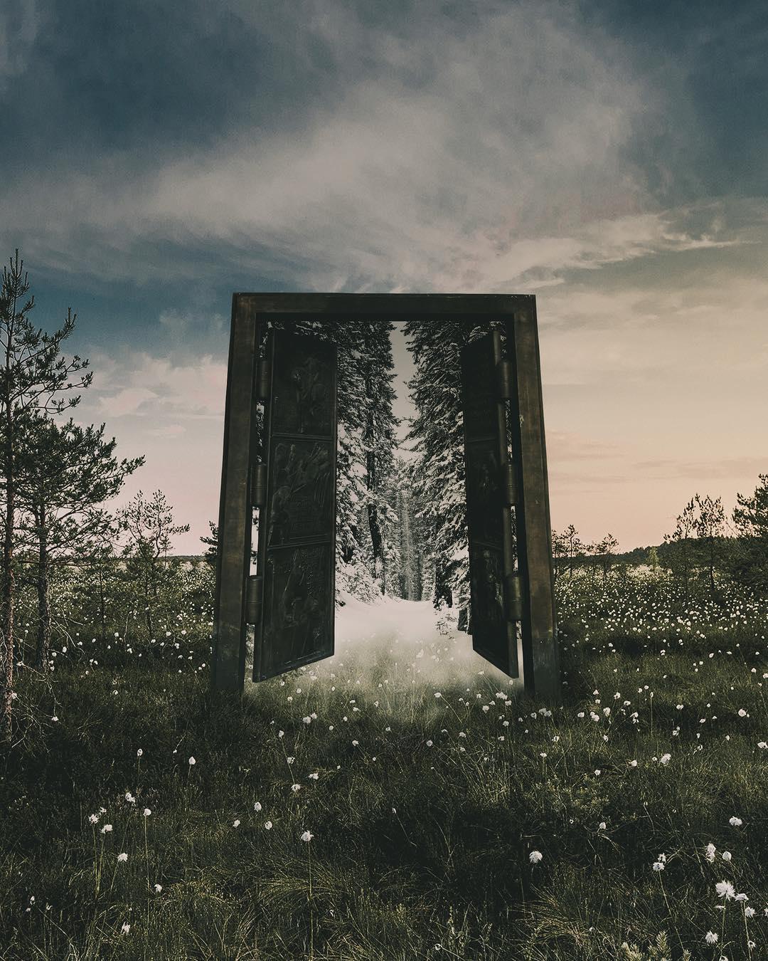 Сказочные фотоманипуляции Эммы Карлссон