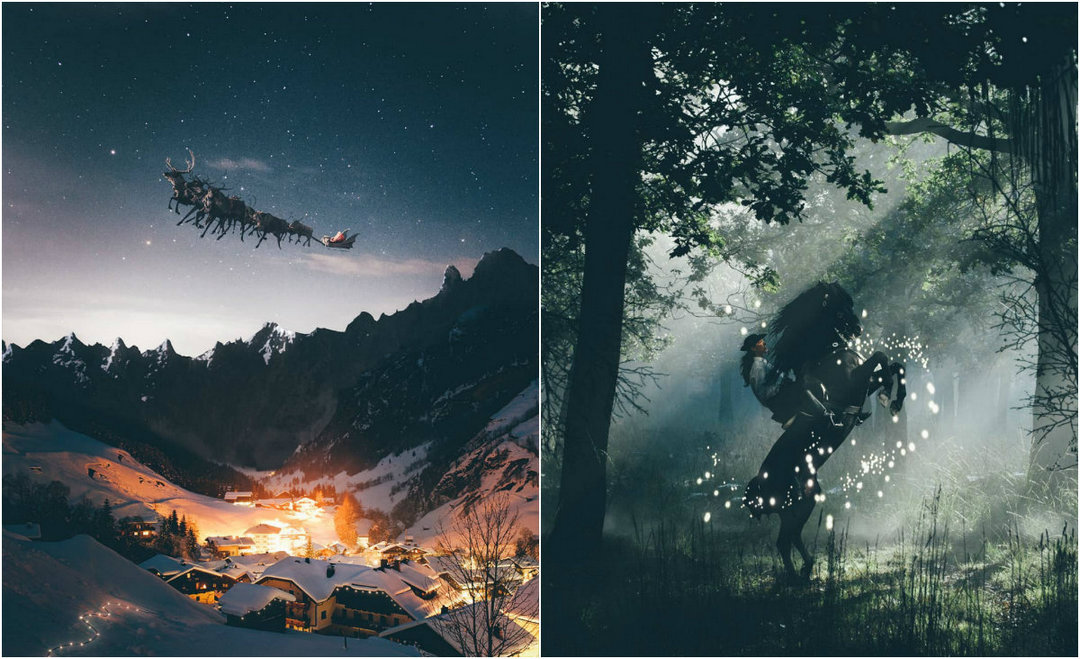 Fairy photo manipulations by Keane Luong