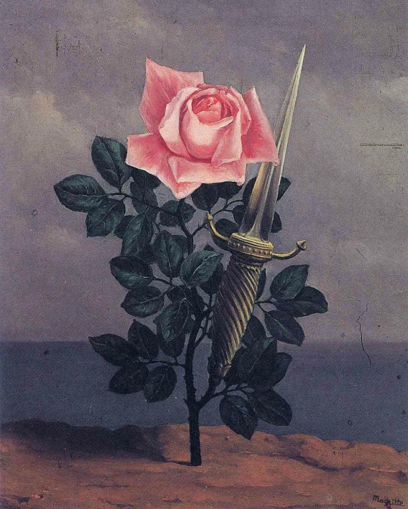 Розы в живописи