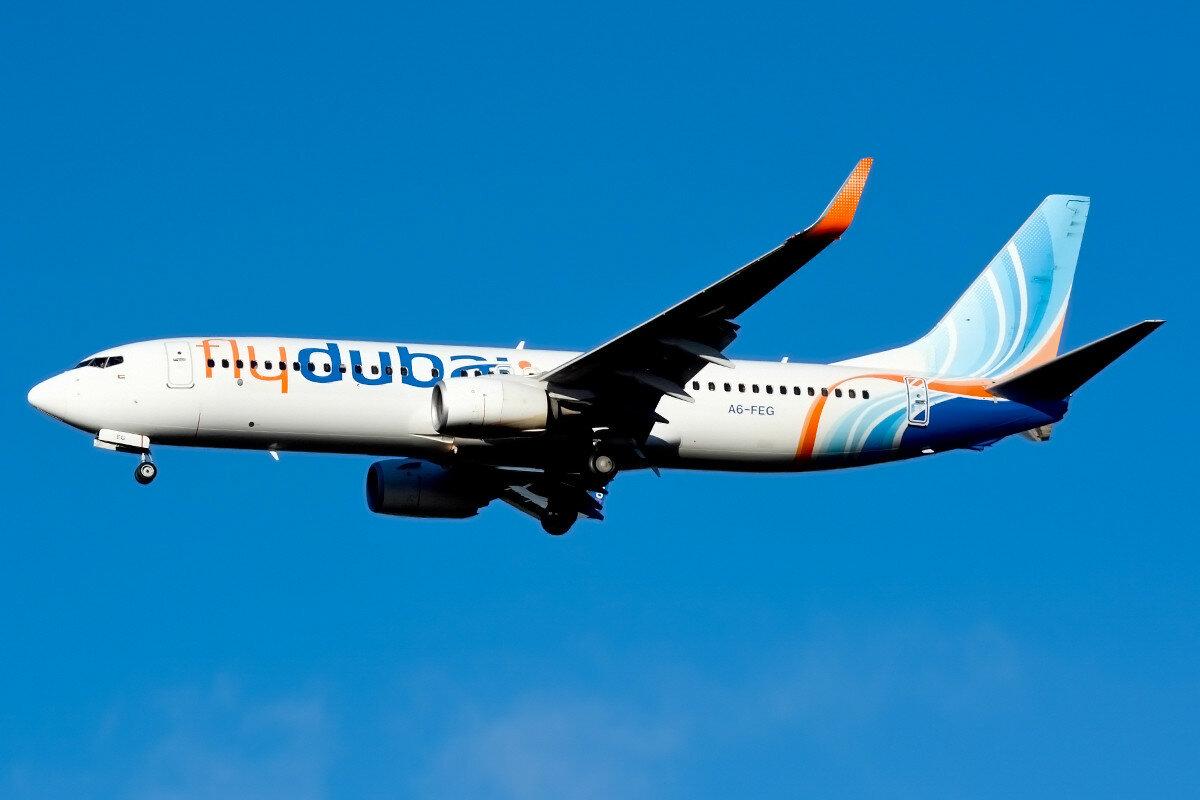 Boeing 737-8KN. flydubai. A6-FEG.