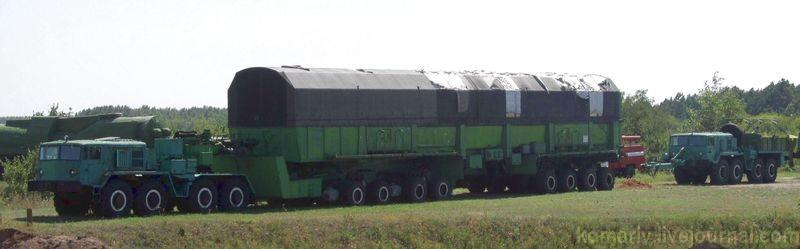 """Самый большой """"ракетный"""" автопоезд"""