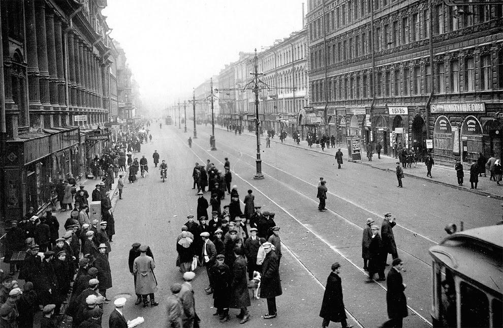Старые фотографии из жизни в Ленинграде в 1920-1930-х годах