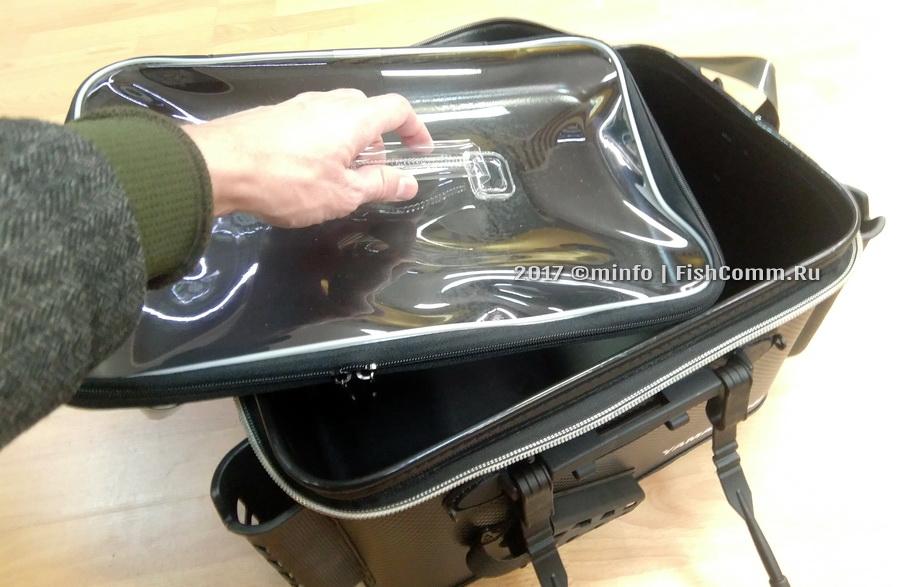 Купить сумку рыболовную Yamakeshi YM77784-Black