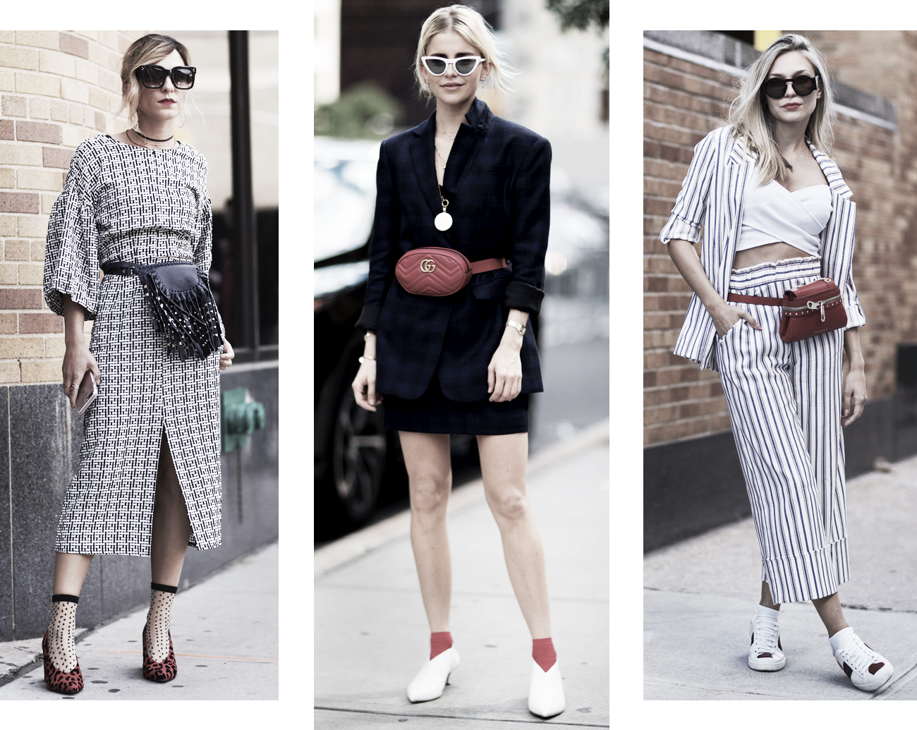 DISTRICT F - NEW YORK STREET STYLE SS18 belt bags 2 trend
