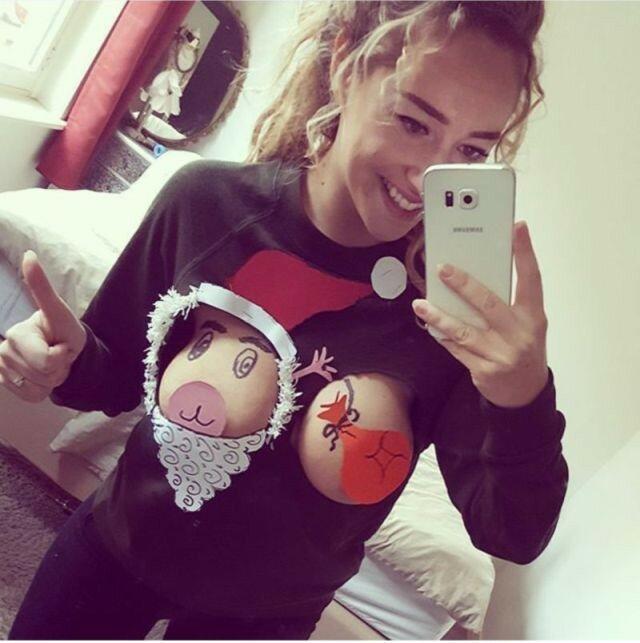 0 17ca46 11931c63 XL - Модная рождественская забава американок #reindeerboob