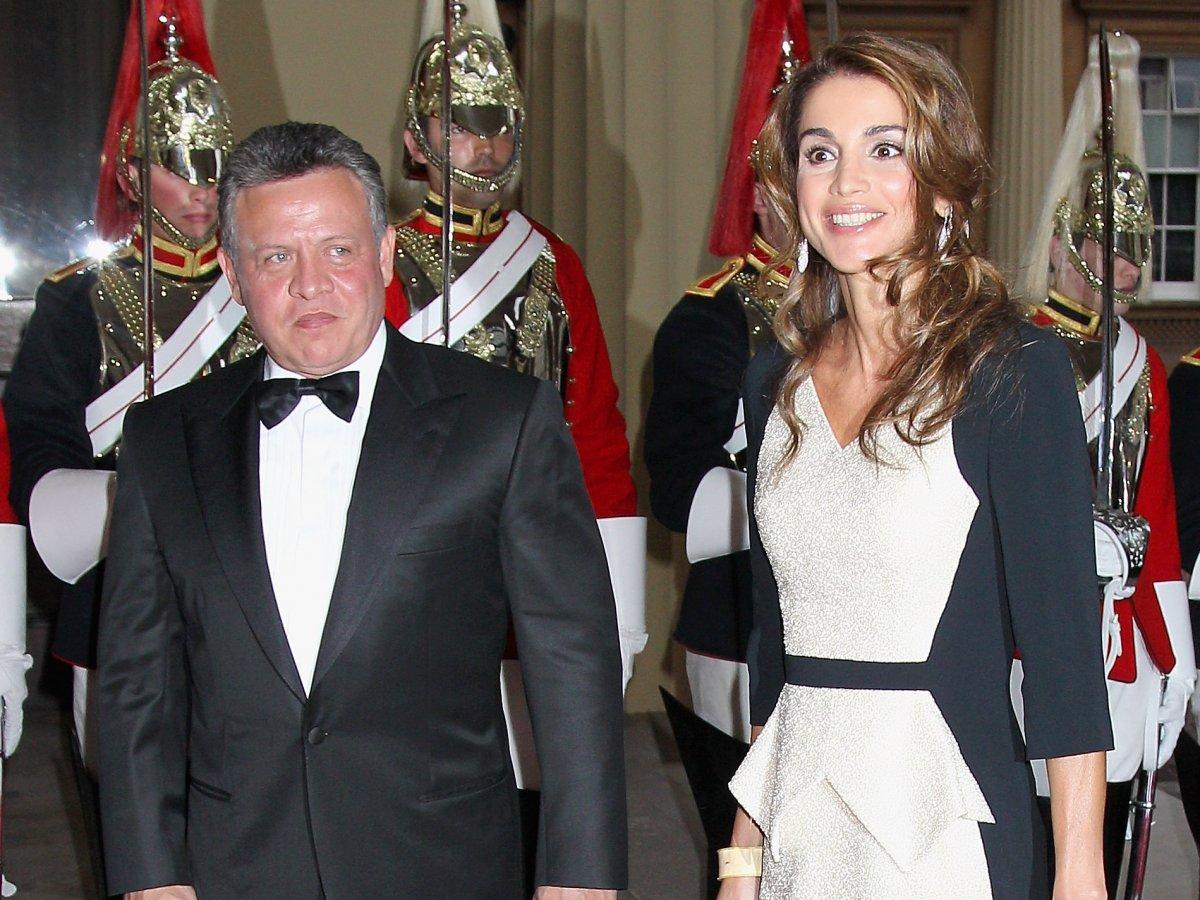 Рания Файсал аль-Ясин, королева Иордании   До брака с Абдаллой II Рания работал