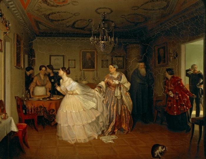 На Руси издавна было принято давать приданое, как за невестами знатного рода, так и за простолюдинка