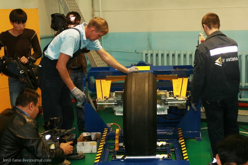 Центр по ремонту конструкций и компонентов воздушных судов авиакомпании Air Astana
