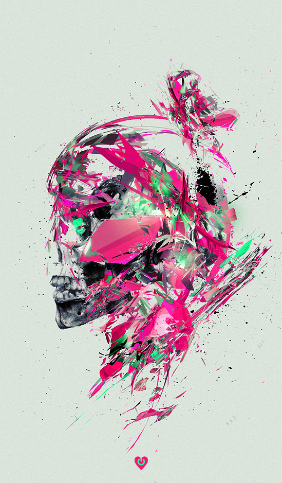 A Roundup of Awesome Skull Illustrations and Designs
