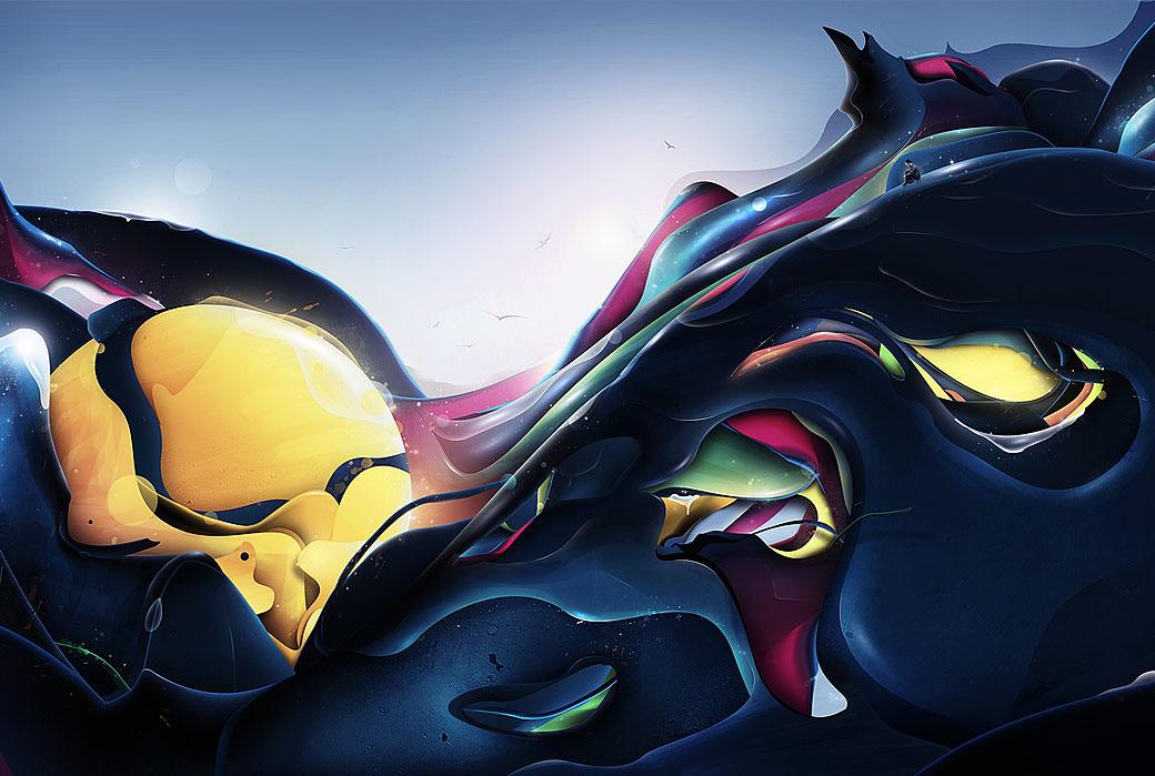 Digital Illustrator - Rik Oostenbroek