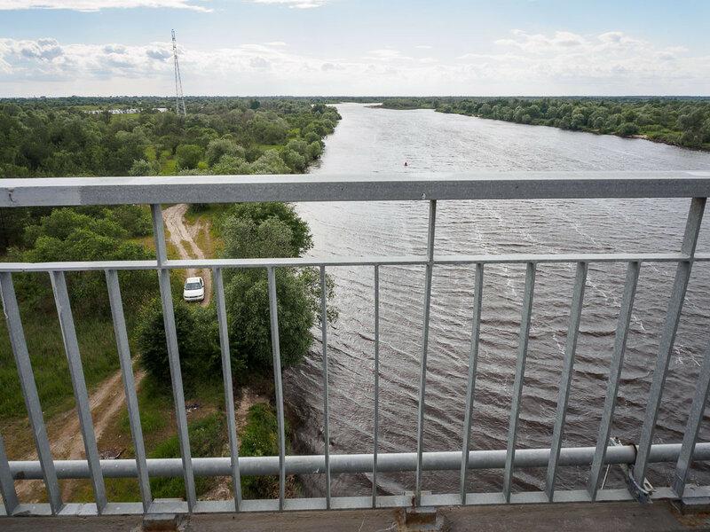 Река Припять.