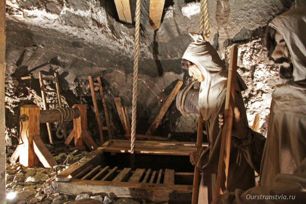 Камера Уршуля в соляных шахтах в Величке