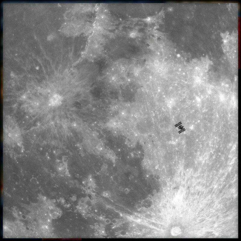 МКС на фоне Луны.(Фрагмент фото) mks na fone luny .jpg