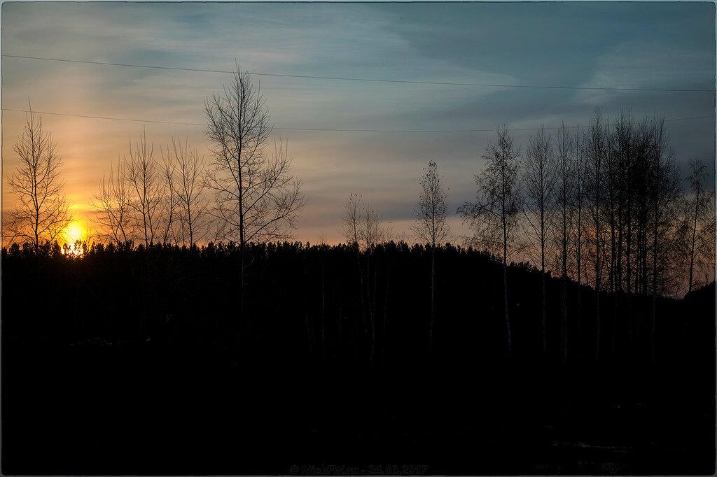 Рассвет над Серебряным бором [© NickFW - 24.10.2017]